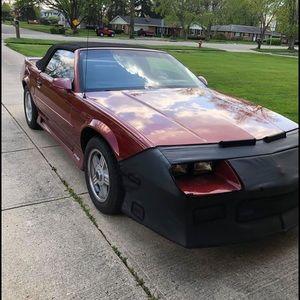 1991 rs convertible Camaro